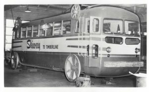 SOCIAL HISTORY HAPPY HOUR- Flying Buses and other Oddities on Mt Hood @ Mt Hood Museum, Government Camp, OR