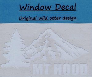mt hood window decal