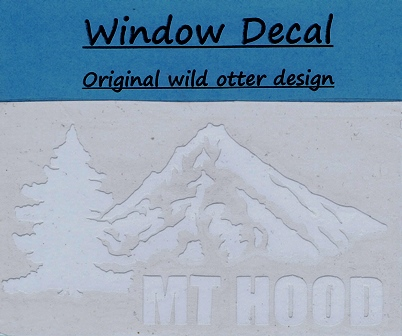 mt hood window decal
