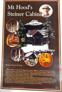steiner cabin poster