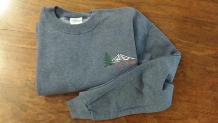mt hood sweatshirt gray