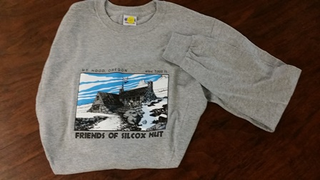 silcox t shirt gray
