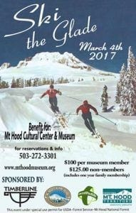 SKI THE GLADE 2017 @ Mt Hood Museum, Government Camp, OR