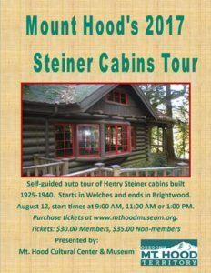 STEINER CABIN TOUR @ Hoodland Senior Center