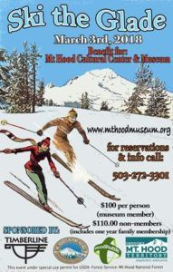 Ski the Glade 2018 CANCELLED @ Mt Hood Museum, Government Camp, OR