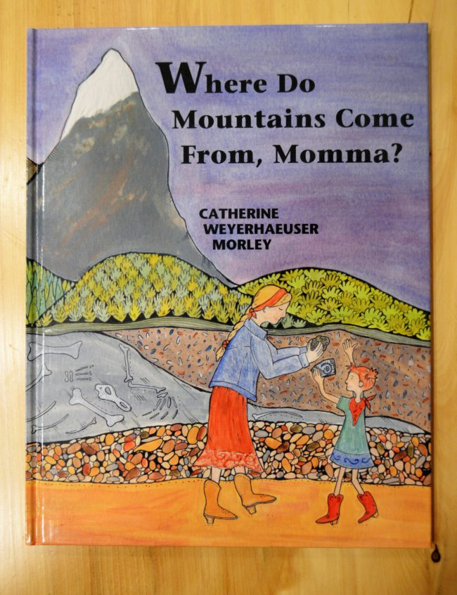 Where do mountains come from, Momma Book